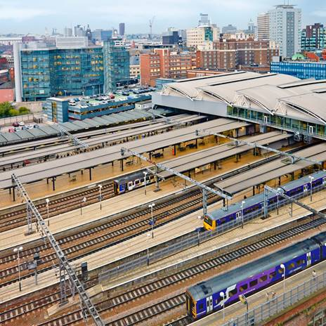 Leeds Station Platforms
