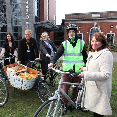 East Leeds pop up cycle festival