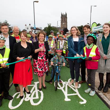 New £7.9M City Centre Cycle Superhighway Opens