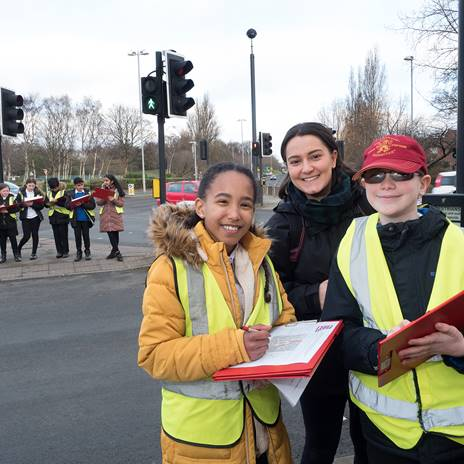 Pupils from St John's CE Infant & Junior School
